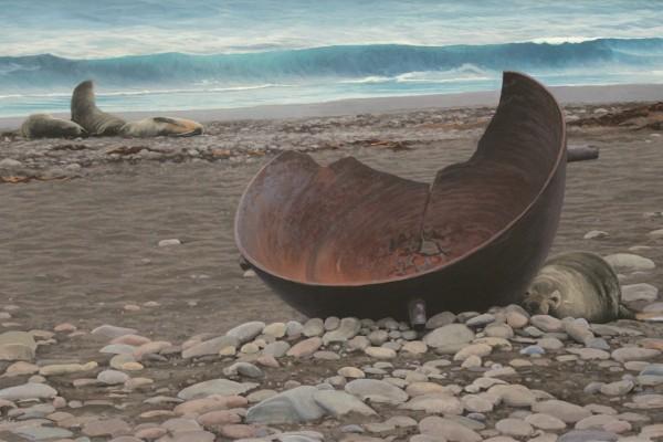 Trypot and Fur Seals - Wilson Harbour